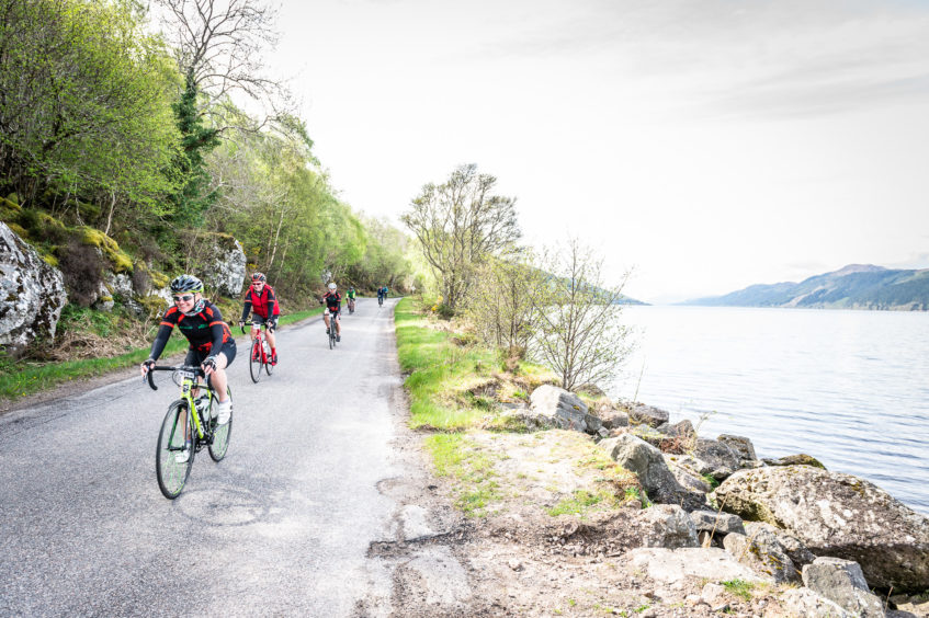 A peaceful ride along the shores of Loch Ness.