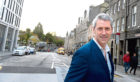 Chris Foy, chief executive of Visit Aberdeenshire, pictured at Marischal Square, Aberdeen.  Picture by Jim Irvine