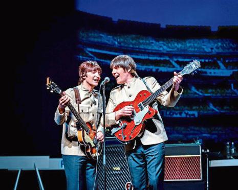 Stepping into the famous shoes are Emanuele Angeletti as Paul McCartney, John Brosnan as George Harrison, Ben Cullingworth as Ringo Starr, and Richard Jordan as John Lennon.