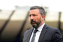 GLASGOW, SCOTLAND - APRIL 14:  Derek McInnes the manager of Aberdeen during the Scottish Cup semi-final between Aberdeen and Celtic at Hampden Park on April 14, 2019 in Glasgow, Scotland. (Photo by Mark Runnacles/Getty Images)