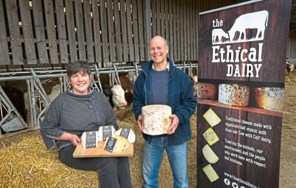 Wilma and David Finlay from The Ethical Dairy.
