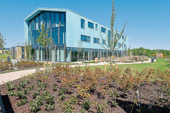 The An Lochran building at the Inverness Campus.