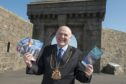 The Lord Provost Barney Crockett launched the new series of Aberdeen Trail Books-