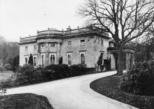 Aden House.  Imaged used courtesy of Aberdeenshire Council.
