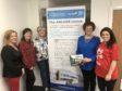 L - R Sandra Simpson, Tina Gibbins, Louise Budge, Val Esslemont, Sarah-Jane Hogg
