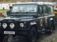 The stolen vehicle from the Puffin Dive Centre in Oban.