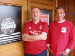 Aberdeen fans set off on challenge of 32 grounds in 32 hours