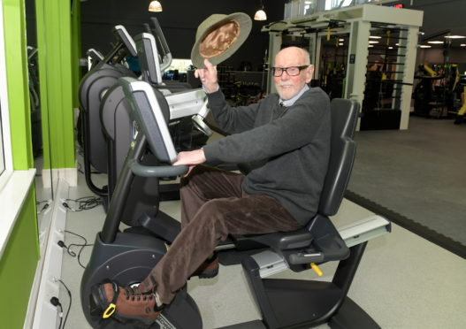 Stanley Smith, a member at Bannatyne's Gym, has turned 99.