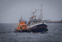 Fraserburgh lifeboat helps Serenity get back to port