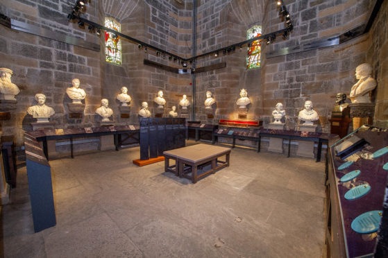 Visitors discover the new look National Wallace Monument