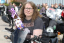 Emma Hall, chair of the Highland Classic Motorcycle Club.
