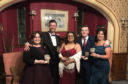From left to right; Margaret Burgess Aburn, Darren McMillan, Sophie Marr, Alan Banner and Morven Reid.