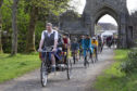 The annual Harris Tweed cycle event took place in Stornoway over the weekend.