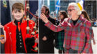 Josh Bruce and Billy Connolly were both involved in the Tartan Day celebrations.