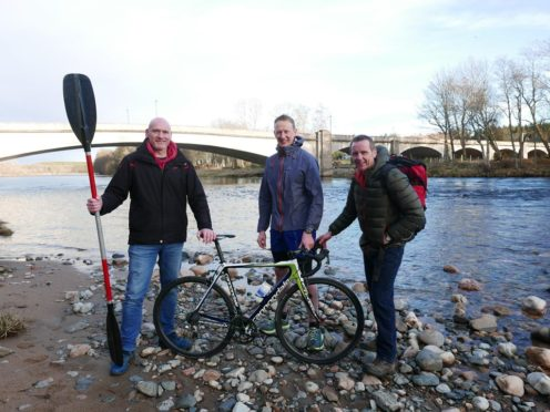 Dr Mark Grandison and his colleagues are embarking on a charity trek.