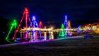 MV Loch Seaforth at Ulapool's Winter Lights Festival