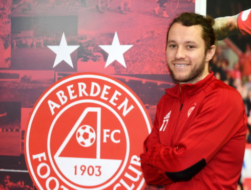 Aberdeen FC's Stevie May.