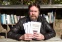 Sam Lucas is donating the profits of his debut novel to Aberdeen North Foodbank.