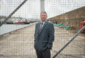 Councillor Gordon Cowie at Buckie Harbour, Moray on the North Pier.    Picture  by Jason Hedges