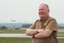 David Stewart, who was chairman of RAF Lossiemouth action group that ran from 2010 to 2011.
