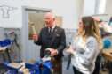 The Duke of Rothesay visits Vanilla Ink, a Social Enterprise business that is bringing Silversmithing and Jewellery Making skills development opportunities to communities in Scotland. Pictures by Jason Hedges and video by Tamsin Gray.