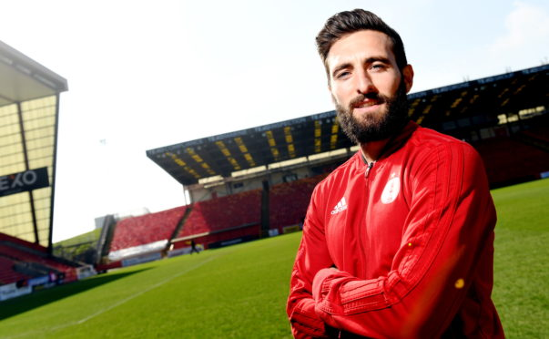 Aberdeen skipper Graeme Shinnie.