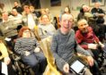 Comedian and winner of Britains Got Talent, Lee Ridley visited the residents of the Leonard Cheshire house in Inverness following his show in Eden Court on Tuesday evening.