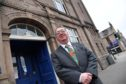 Councillor Stephen Calder at the Arbuthnot Museum in Peterhead.