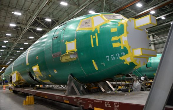 The first fuselage of the RAF's P-8 Poseidon fleet has been completed in the US.