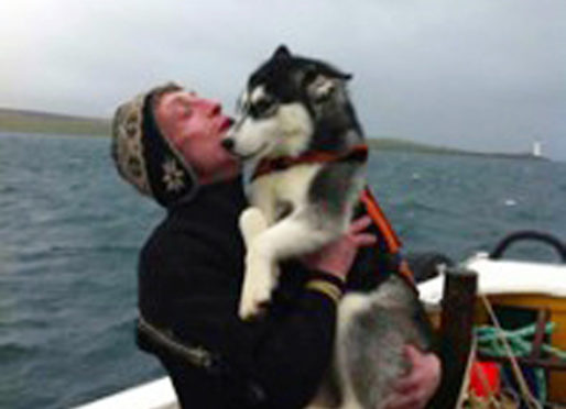 Picture of diver Rodney MacLean who died in 2012, while diving for Scallops.