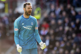 Goalkeeper Joe Lewis crowned Aberdeen's player of the year for 2018-19