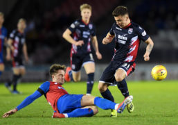 Daniel Armstrong hoping to complete quick leap from League 1 to Premiership with Ross County