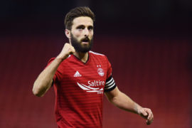 Dons captain Shinnie set to sign pre-contract with Derby County