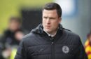 06/04/19 LADBROKES CHAMPIONSHIP PARTICK THISTLE V DUNFERMLINE (2-2) THE ENERGY CHECK STADIUM AT FIRHILL - GLASGOW Partick Thistle manager Gary Caldwell