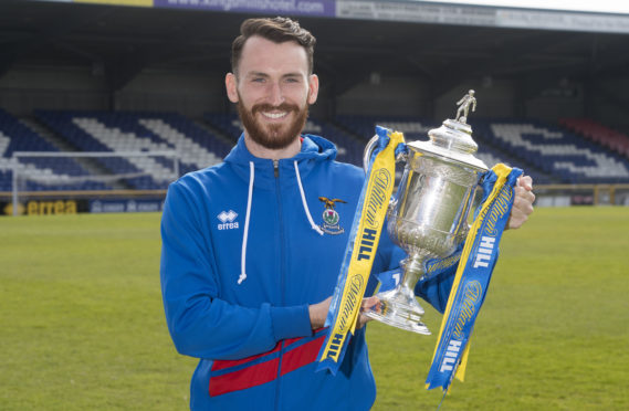 10/04/18 TULLOCH CALEDONIAN STADIUM - INVERNESS Inverness' Joe Chalmers.