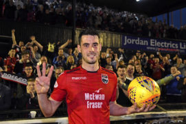 Ross County hat-trick hero Brian Graham dedicates treble to son Daniel as Staggies stand on brink of Championship title