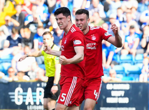 Scott McKenna scored the game's only goal.