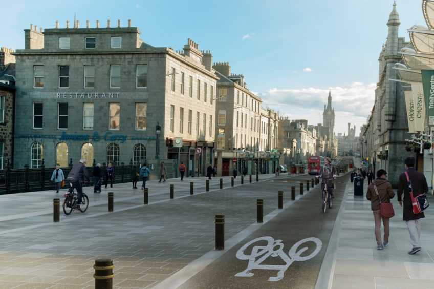 ACF's proposed vision for the street