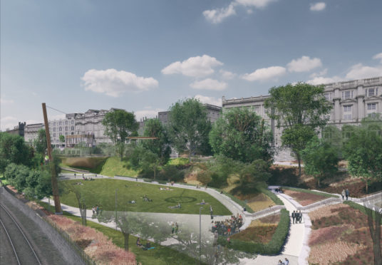 The plans for Union Terrace Gardens