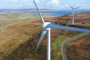Wind-turbines in Orkney. Credit Colin Keldie courtesy of Solo Energy.