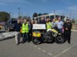 Apache North Sea has donated a £10,000 motorbike to Nervs.