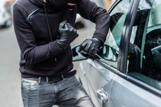 Lorna Ferguson, detective chief inspector for the north-east police division, urged car owners to keep security in mind to avoid becoming the next crime statistic.