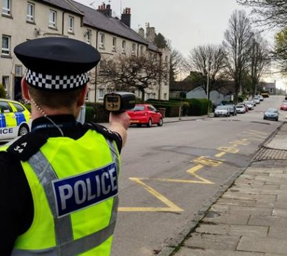 Officers are clamping down on speeding and dangerous driving in Kittybrewster