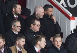 Aberdeen chairman Stewart Milne confident Derek McInnes will reject Scotland overtures to remain at Pittodrie