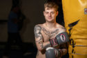 Thai boxer/mental health campaigner Nathan Brown