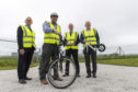 Cycling equipment has been donated to two north-east organisations.