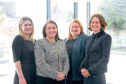 Rhona McFarlane, Fiona Herrell, Laura Petrie,  and Leigh Gould