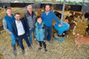 Graham Armstrong, David Michie, Rory Christie, Rural Affairs Minister Mairi Gougeon and Charlie Russell        30/4/19  Picture © Andy Buchanan 2019