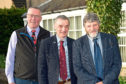 NFU Scotland president Andrew McCornick and vice-presidents Charlie Adam and Martin Kennedy.
