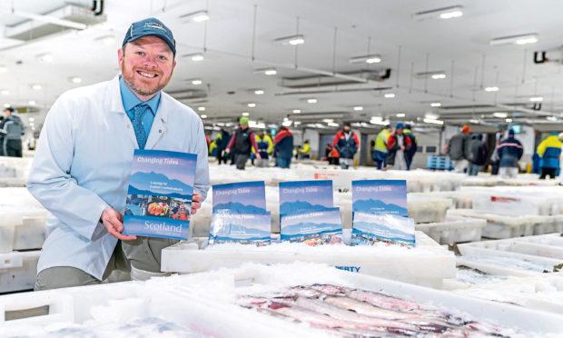 Partrick Hughes, head of Seafood Scotland at Peterhead Fish Market.